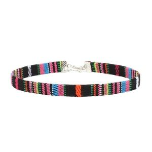 5/$20 ❤️ Boho Baja Striped Choker Necklace